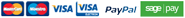 Payment methods we accept are Mastercards, Maestro, Visa, Visa Electron & PayPal