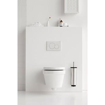 Brabantia Toilet Brush.Brabantia Toilet Brush Holder Matt Steel 427183