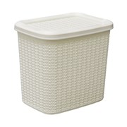 Jvl Loop Storage Box White 10lt (13-363WH)