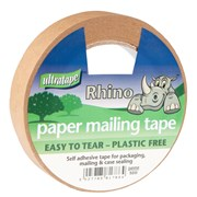Ultratape Paper Mailing Tape 24mm x 50m (PM02124850RH)