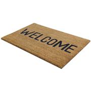 Jvl Coir Welcome Mat 40x70cm (02-424)