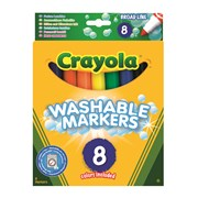 Crayola 8 Super Washable Pens (58-8328-E-000)