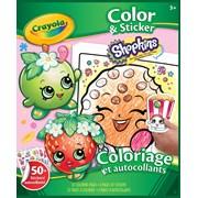 Crayola Shopkins Colour & Sticker Book (04-0252-a-001)