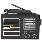 Omega Rechargeable Multi Band Ac/dc Radio (4065)