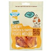 Goodboy Chewy Chicken & Sweet Potato Wedges Dog Treats 90g (05645)