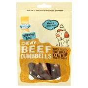Goodboy Deli Treats Chewy Beef Dumbbells 100g (05662)