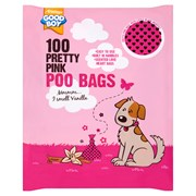 Armitage Pet Care Armitage Pink Poo Bags 100s (07903)