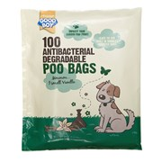 Armitages Antibacterial Biodegradable Poo Bags 100s (07904)