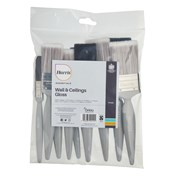 Harris Essentials Flat Paint Brush Set 10pk (101011007)