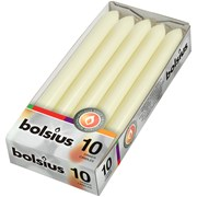 Bolsius Ivory Dinner Candles 10s 230x20 (103607232205)