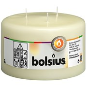Bolsius Mamouth Candle Ivory 150mm (103618810105)