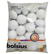 Bolsius 20 Floating Candles White (103632053702)