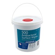 Caterpack Anti Bacterial Surface Wipes 500s (10682)