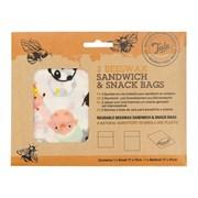 Tala Kids Sandwich/snack Wax Bags 2pce (10A31330)