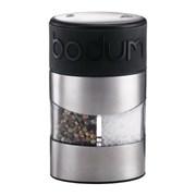 Bodum Twin Salt & Pepper Grinder Black (11002-01)