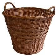 Jvl Willow Log Basket (15-221)