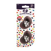 Jelly Belly Island Punch 3d Duo Mini Vent Mount Air Freshener (15755A)