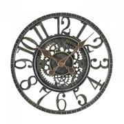 """Smart Garden Newby Mechcanical Wall Clock Verdigris 12"""" (5065011)"""