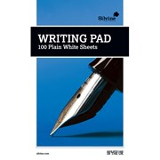A5 Writing Pad White Plain 100 Sheet (1721)