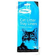 Goodgirl Cat Litter Tray Liners 6s Medium (17571)