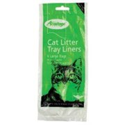 Goodgirl Cat Litter Tray Liners 6s Large (17579)