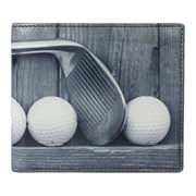 Kalmin Printed Wallet Golf (196 4 GOLF)