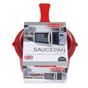 Pendeford Easy-cook Saucepan & Lid Red Small 0.6lt (NS613R)