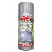 Silver Metallic Spray 200ml (2071)