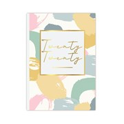A5 Diary Pastel Patterns (20A5CD05)