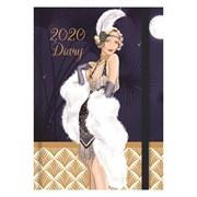A6 Diary Claire Coxon Art Deco (20A601)