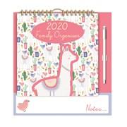 Family Organiser Calendar Llama (20FC03)