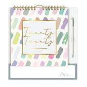 Family Organiser Calendar Pastel Patterns (20FC05)