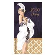 Slim Cased Diary Claire Coxon Art Deco (20SD02)