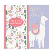 Slim Cased Diary Llama (20SD03)