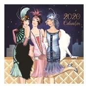 Large Square Calendar Claire Coxon Art Deco (20SQ02)