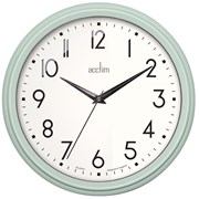 Elodie Retro Wall Clock Mint (22475)