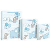 Baby Boy Elephant Gift Bag Medium (22554-3)
