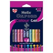 Oxford Colour Gel Pens-10 Assorted (226810)