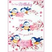 Simon Elvin Cute Female Thank You Cards (22867 T.YOU)