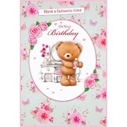 Simon Elvin Cute Female Thank You Cards (23060T.YOU)