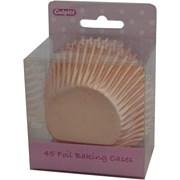 Culpitt Rose Gold Foil Cake Cases 45s (2348)