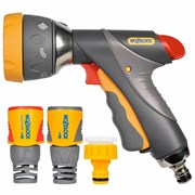 Hozelock Multi-spray Pro Gun & Fittings (23719018)