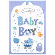 Simon Elvin Baby Boy Cards (24214)