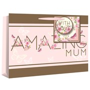 Amazing Mum Gift Bag & Card Shop (24237-6)