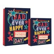 Best Dad Ever Gift Bag Large (24264-2)