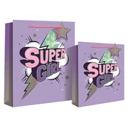 Super Girl  Gift Bag Large (24681-2)