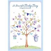 Simon Elvin Baby Boy Cards (25102)