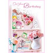 Simon Elvin Trad Female Birthday Cards (25179)