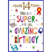 Simon Elvin Juvenile Male Birthday Cards (26159)
