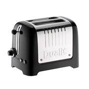 Dualit Lite 2 Slice Black Toaster (26205)